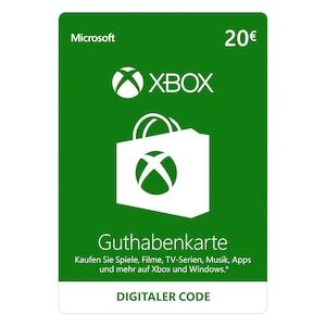 Xbox Live 20 EUR Guthaben