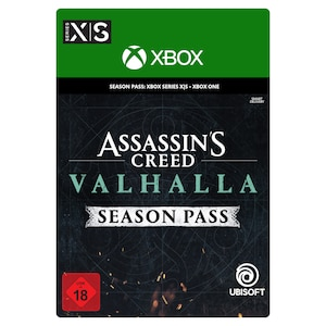 Assassins Creed Valhalla Season Pass (Xbox)
