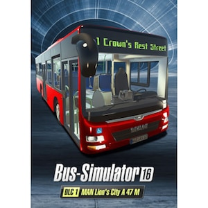 Bus Simulator 16 - MAN Lion´s City A47 M (DLC1)