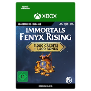 Immortals Fenyx Rising Overflowing Credits Pack 6500 (Xbox)