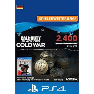 Call of Duty Black Ops Cold War Points 2400 (PSX)