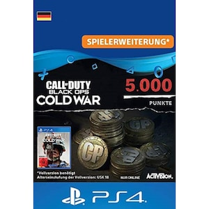 Call of Duty Black Ops Cold War Points 5000 (PSX)