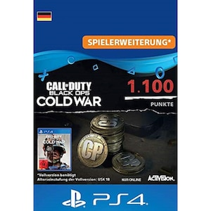 Call of Duty Black Ops Cold War Points 1100 (PSX)