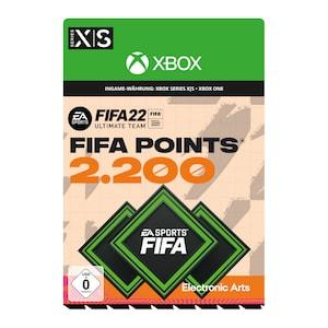 FIFA 22 Ultimate Team 2200 FIFA Points (Xbox)