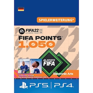 FIFA 22 ULTIMATE TEAM 1050 POINTS (PS)