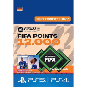 FIFA 22 ULTIMATE TEAM 12000 POINTS (PS)