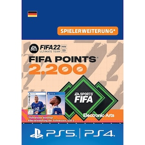 FIFA 22 ULTIMATE TEAM 2200 POINTS (PS)