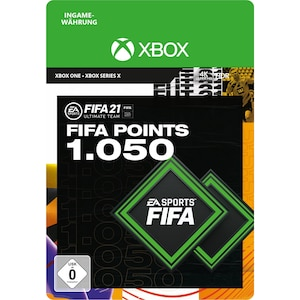 FIFA 21 ULTIMATE TEAM 1050 POINTS (Xbox)
