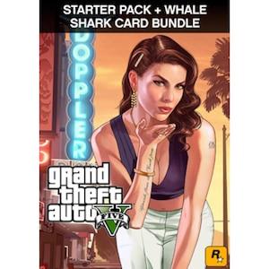 Grand Theft Auto V: Premium Edition & Whale Shark Card Bundle