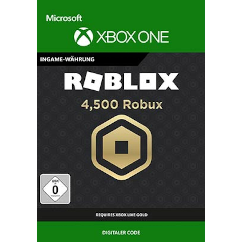 Roblox: 4500 Robux (Xbox)