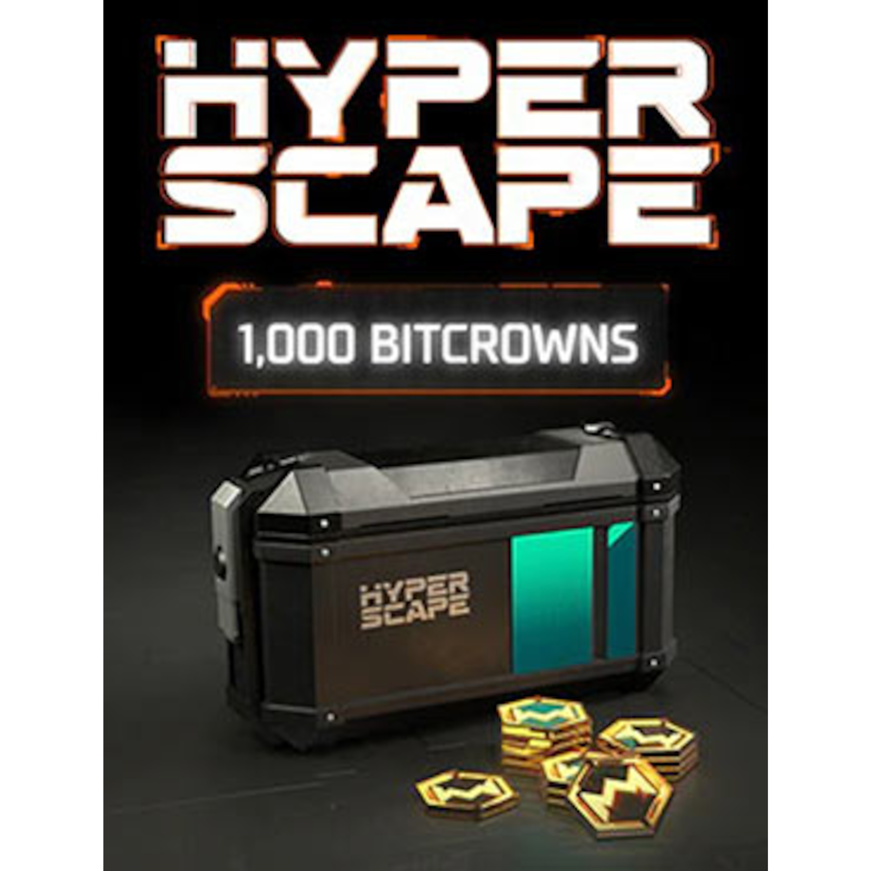 Hyper Scape Virtual Currency: 1000 Bitcrowns Pack (Xbox)