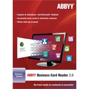 ABBYY Business Card Reader 2.0 (for Windows)
