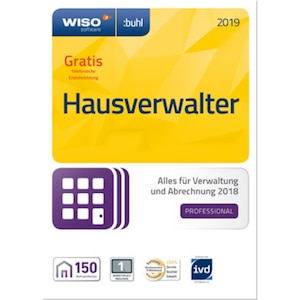 WISO Hausverwalter 2019 Professional