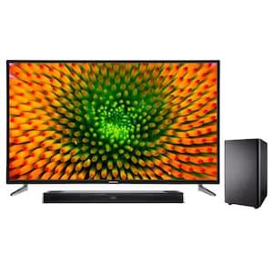MEDION® BundelDEAL ! LIFE® P15010 50 inch Ultra HD TV & S61388 Dolby Atmos Soundbar met Bluetooth