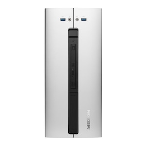MEDION® AKOYA® E22001, Intel® Pentium® Gold G5400, Windows10Home, 256 GB SSD, 8 GB RAM, Desktop-PC