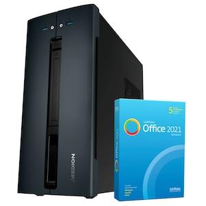 MEDION® AKOYA® E22008, Intel® Pentium® Gold G6400, Windows10Home, 512 GB SSD, 8 GB RAM, Multimedia-PC, inkl. SoftMaker Office Standard 2021