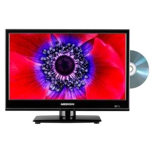 MEDION® LIFE® E11961 Fernseher, 47 cm (18,5'') LCD-TV, HD Triple Tuner, integrierter DVD-Player, Car-Adapter, CI+
