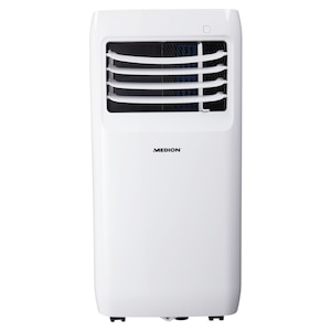 MEDION® Mobile Klimaanlage MD 37000, Energieeffizienzklasse A, Kühlen, Entfeuchten und Ventilieren, Kühlleistung 9.000 BTU, Kühlmittel R290, max. 32m²