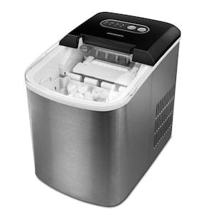 MEDION® Ijsblokjesmachine MD 17739 | Kleine en grotere formaten ijsblokjes | Korte productietijd | Inhoud 2,2 liter
