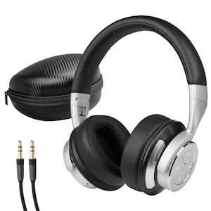 MEDION® LIFE® P62049 Bluetooth® Kopfhörer mit aktiver Geräuschunterdrückung (Noise-Cancelling), Headset, bis 16 Stunden Akkulaufzeit, Freisprechfunktion, Bluetooth® 4.0