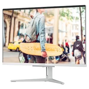 MEDION® AKOYA® E23301, AMD Athlon 300U, Windows10Home, 60,5 cm (23,8) FHD Display, 256 GB SSD, 8 GB RAM, Aluminium-Design, All-in-One PC