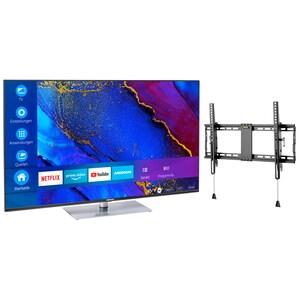 MEDION® BundelDEAL ! LIFE® X14360 43 inch Ultra HD Smart-TV + GOOBAY Pro TILT (L) Muurbevestiging (tot 70 Inch)