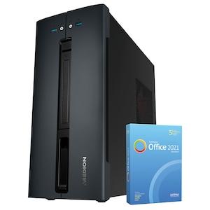MEDION® AKOYA® P66088, Intel® Core™ i5-9400F, Windows10Home, GTX 1660 SUPER™, 512 GB SSD, 16 GB RAM, Multimedia PC, inkl. SoftMaker Office Standard 2021