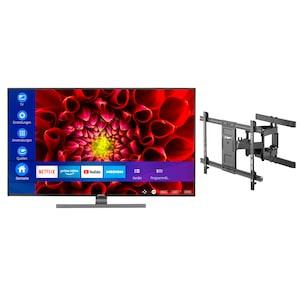 MEDION® LIFE® S15511 138,8 cm (55'') Ultra HD Smart-TV + GOOBAY Pro FULLMOTION (L) Wandhalterung - ARTIKELSET