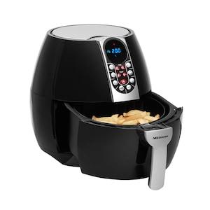 MEDION® Airfryer MD 17320 | Olie vrij frituren | Digitaal bedieningspaneel | Automatische programma's | 2,5 L inhoud | Geschikt voor 800 gram frites