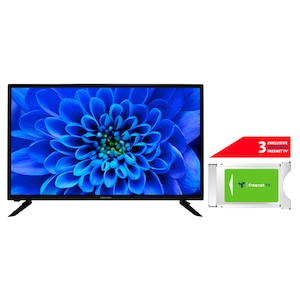 MEDION® LIFE® E13282 80 cm (31,5'') HD TV + DVB-T 2 HD Modul (3 Monate freenet TV gratis) - ARTIKELSET