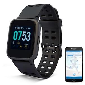 MEDION® LIFE® P2200 Fitnessuhr mit Farbdisplay, Multi-Sport Modi, Herzfrequenzmesser, Schlaftracking, Schrittzähler, Stoppuhr, Staub- und Wassergeschützt