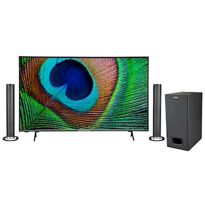 MEDION® LIFE® X15031 125,7 cm (50'') Ultra HD Android TV + P61220 TV-Soundbar mit Bluetooth & Subwoofer - ARTIKELSET