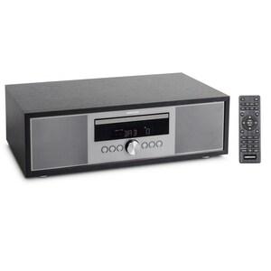 MEDION® LIFE® P64145 All-in-One Audio System, DAB+/PLL-UKW Stereo-Radio, Bluetooth®, CD/MP3-Player, Wiedergabe von Musikdateien vom USB-Stick, elegantes Design, 2 x 15 W RMS  (B-Ware)