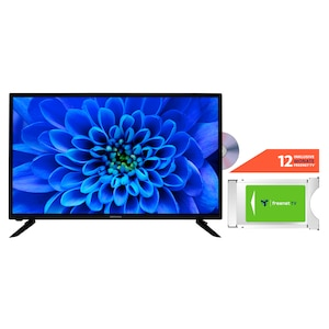 MEDION® LIFE® E13283 80 cm (31,5'') HD TV + DVB-T 2 HD Modul (12 Monate freenet TV gratis) - ARTIKELSET