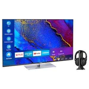 MEDION® Offre combinée ! LIFE® X15061 Ultra HD-TV 50 pouces & E62003 Casque sans fil
