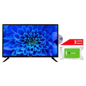 MEDION® LIFE® E13283 80 cm (31,5'') HD TV + DVB-T 2 HD Modul (3 Monate freenet TV gratis) - ARTIKELSET