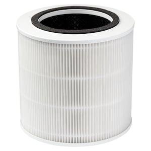 MEDION® 3in1 luchtzuiveringsfilter MD 10171 | bestaande uit voorfilterrooster | HEPA filter (H13) | actief koolfilter