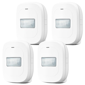 MEDION® 4x Smart Home Bewegungsmelder P85807, 120° Weitwinkel, bis zu 8 Meter Reichweite - ARTIKELSET
