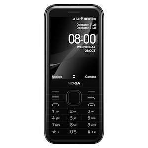 NOKIA 8000 Dual-SIM, onyxschwarz