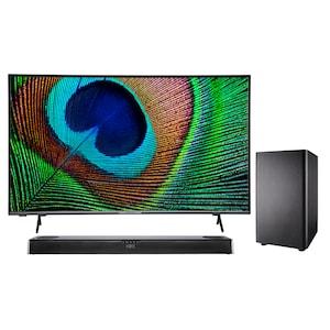 MEDION® BundelDEAL ! LIFE® X14330 43 inch Android Smart-TV & S61388 Dolby Atmos Soundbar met Bluetooth