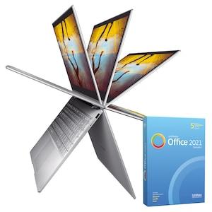 MEDION® BundelDEAL ! AKOYA S14401 | Intel Core i5 | Windows10Home | Ultra HD Graphics | 14 inch Full HD | 8 GB RAM | 512 GB SSD & SoftMaker Office Standard 2021