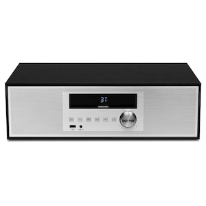 MEDION® LIFE® P64301 2.0 All-in-One Audio System mit CD-Player, Bluetooth, PLL-UKW Stereo Radio, MP3 kompatibel, 2 x 15 Watt RMS