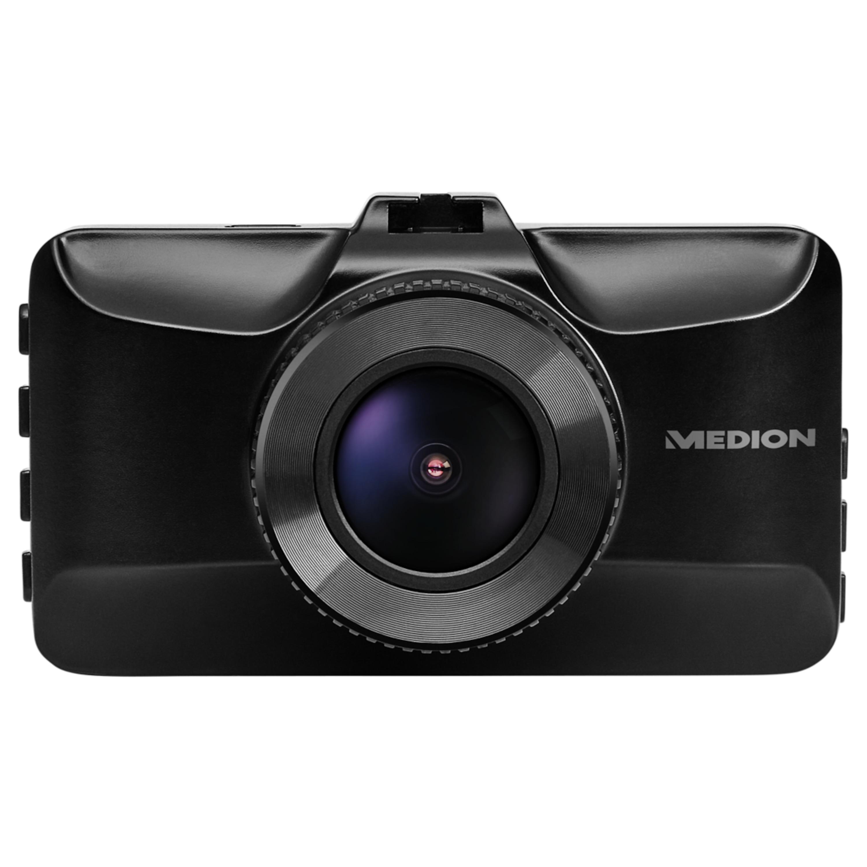 """MEDION® LIFE® Dashcam E49018, Autokamera, 7,62 cm (3"""") LC-Display, Full-HD, 3 MP Sensor, G-Sensor, 130° Weitwinkelobjektiv, Automatische An- und Abschaltfunktion"""