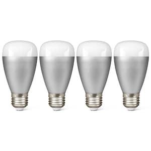 MEDION® Smart Home Sparpaket - 4 x RGB LED Leuchte P85716, Smart Home, Alle Farben dank RGB, Lichtdimmer, 50.000 Stunden Nutzungsdauer (RGB)