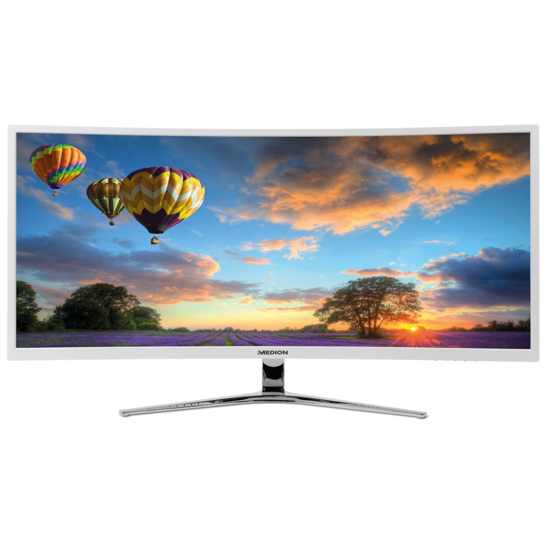 MEDION® AKOYA® X58434, Monitor,  86,4 cm (34''), UWQHD Display, HDMI® Anschluss und Displayport