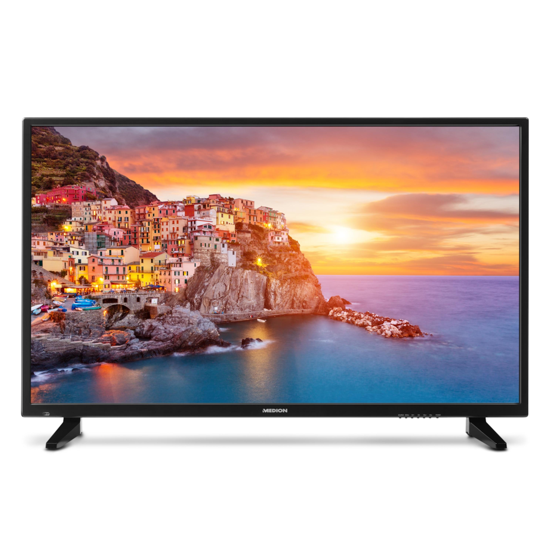 MEDION® LIFE® P18093 Fernseher, 120,7 cm (48) LED-Backlight-TV, Ultra HD, HD Triple Tuner, integrierter Mediaplayer, CI+ (B-Ware)