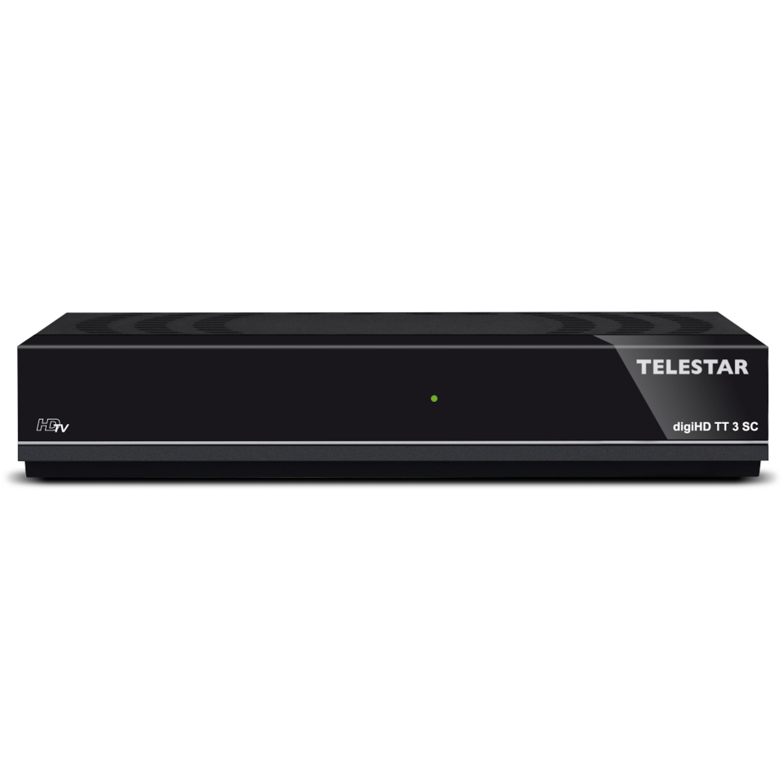TELESTAR digiHD TT 3 SC HD Receiver, DVB-T2, HD...