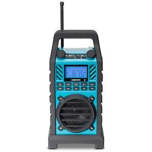 MEDION® LIFE® E66263 Outdoor Radio mit Bluetooth-Funktion, UKW Radio, SD-Kartenleser, USB-Anschluss und AUX Eingang, 50 Watt (B-Ware)