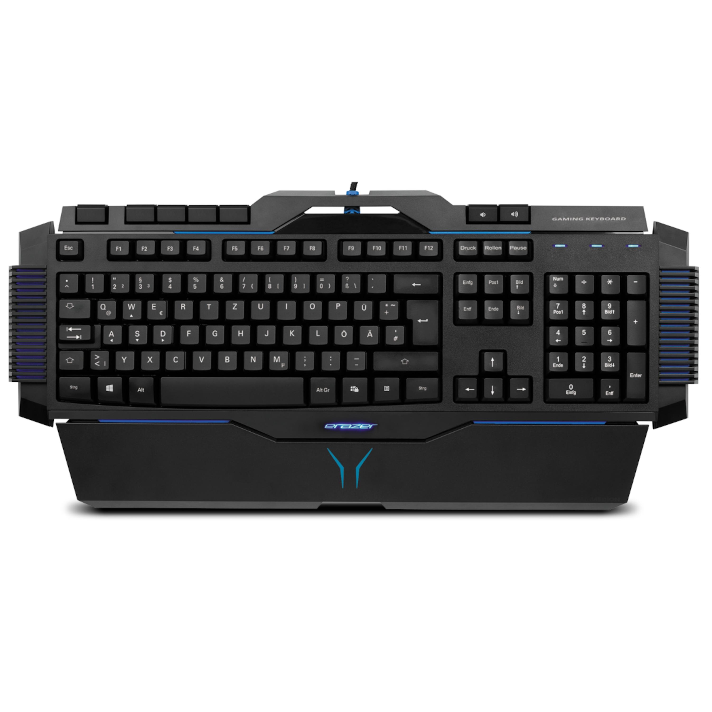 MEDION® ERAZER® X81025 Gaming Tastatur, Präzise Tastenreaktion, Hintergrundbeleuchtung, (100%) Anti-Ghosting-Funktion