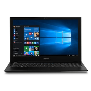 "MEDION® AKOYA® S6219, Intel® Pentium® N3710, Windows 10 Home, 39,6 cm (15,6"") FHD Display, 128 GB eMMC, 4 GB RAM, Notebook"
